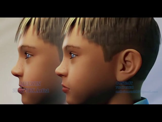Best Animation Institute/College and courses In Mangalore,Karnataka- VFX/ 3D Student's work - Melwin