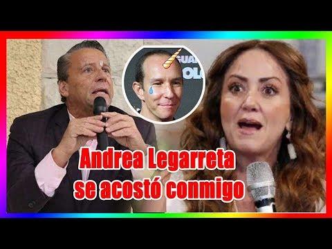 Alfredo Adame reveló un terrible secreto sobre Andrea Legarreta que hizo enojar a Erik Rubín