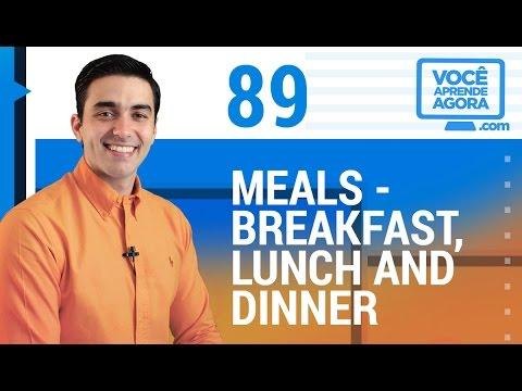 O significado de dinner em inglês