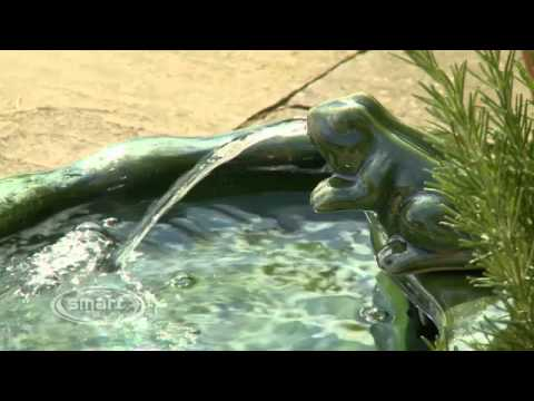 Smart Solar Frog Water Feature