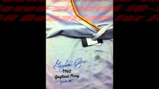 GAYLORD PERRY MLB HOF AUTOGRAPH JERSEY SUCCESS TTM