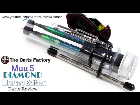 The Darts Factory Muu5 Diamond Limited Edition darts review
