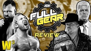AEW Full Gear Review   Wrestling With Wregret