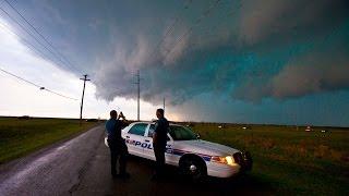 Storm Chase - Lawton & Frederick Tornado Warned Storms, Oklahoma - 17th April 2013