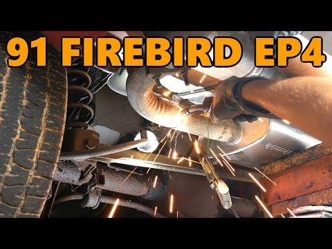 1991 Firebird Project Budget DIY Exhaust Replacement/Repair (Ep.4)