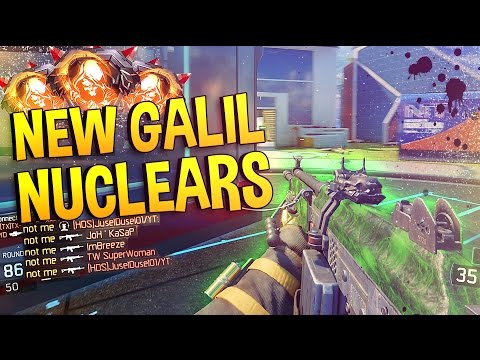 *NEW* GALIL DLC GUN NUCLEARS! - GLITCHED WEAPON & LOBBY NUKING this GUN is SO GOOD!