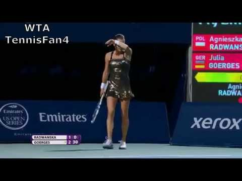 Aga Radwanska's Hot Shots of 2015