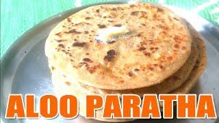 How to make Desi Ghee Aloo Paratha Recipe in Hindi   Punjab Dhaba Style   आलू पराठा   Home made ♥️😍