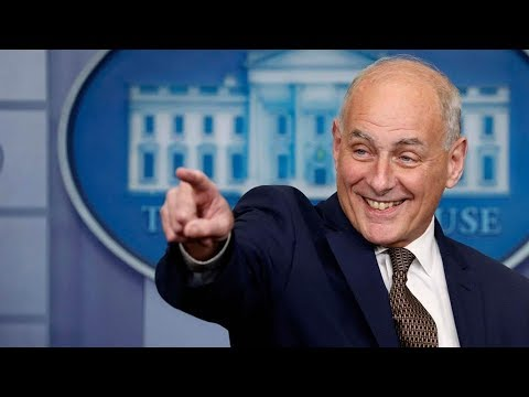 White House chief of Staff John Kelly Gives RARE Press Briefing Take Press for a RIDE!!