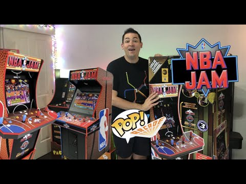 Arcade 1Up NBA JAM WITH WiFi! Full Australian Unboxing & Build! from The POP! Arcade