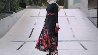 Ezgi Modest DressVintage Modest Dress By ANNAH HARIRI