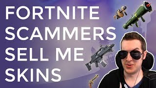 Terrible Fortnite Scammers Try To Sell $500 Skins