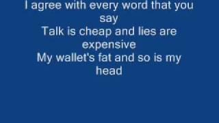 Green day-walking contradiction lyrics