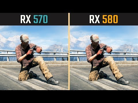 RX 570 Vs. RX 580 (Test In 7 Games)