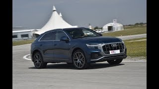 Audi Q8 - Test on track NAVAK