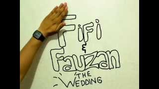 STOP MOTION WEDDING INVITATION - FIFI & FAUZAN - 6 JUNI 2015