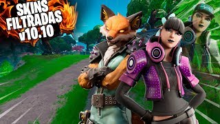 NEW SKINS FILTERED IN THE PARK 10.10 FORTNITE SEASON X