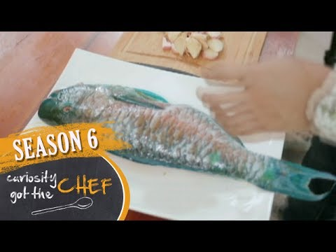 Grilled Parrot Fish & Ginger Fish Sauce Dip | Curiosity Got The Chef Season 6