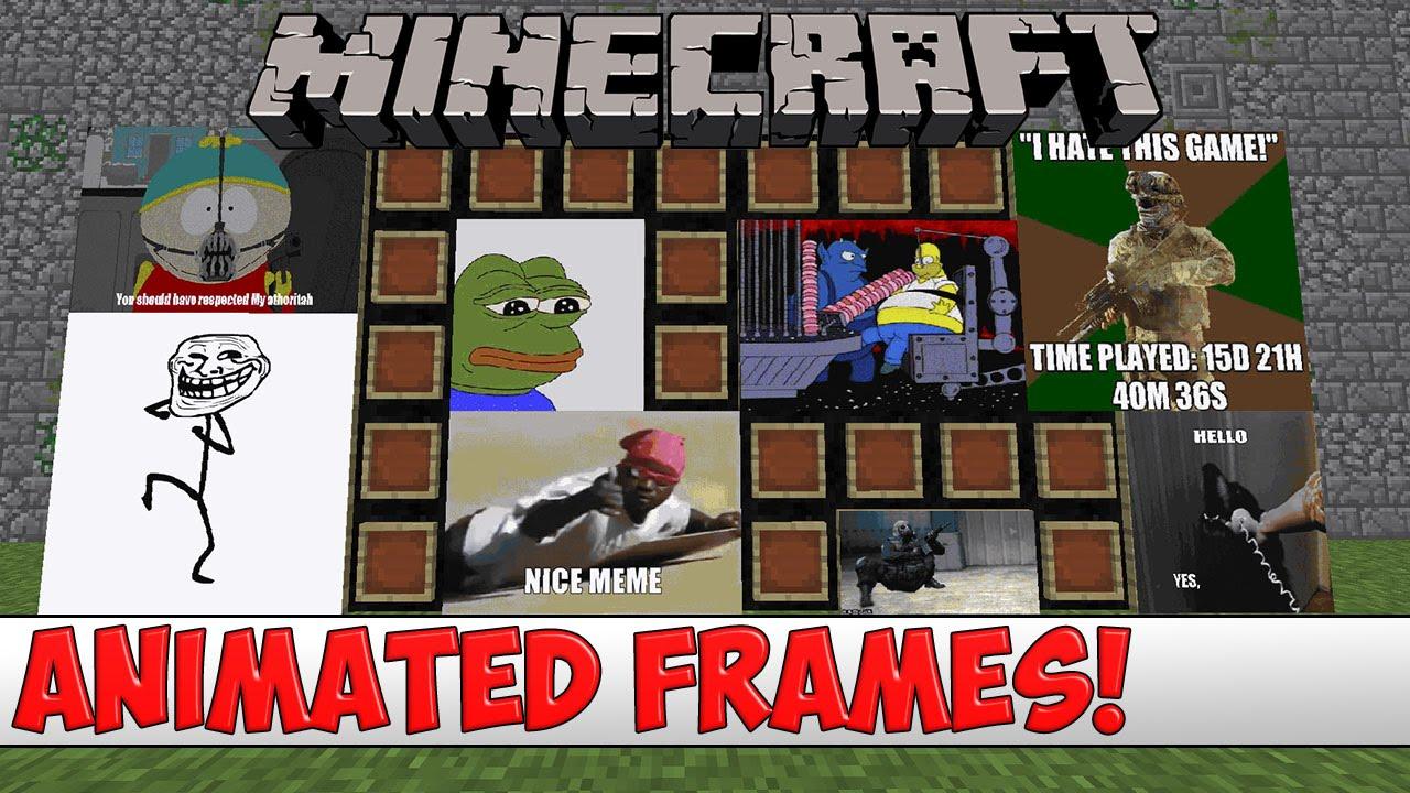 Minecraft Item Frame Image Plugin   Amtframe org