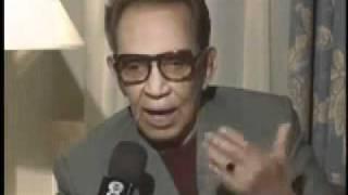 Entrevista Mario Moreno Cantinflas