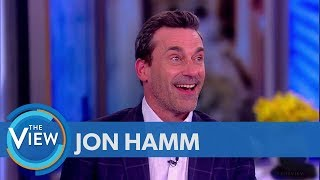 Jon Hamm Remembers Being Set Decorator, Theatre Teacher, Talks 'Mad Men' In Light Of #MeToo