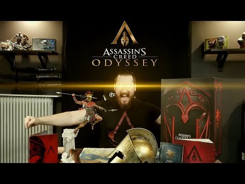 Assassins Creed Odyssey Spartan Collectors