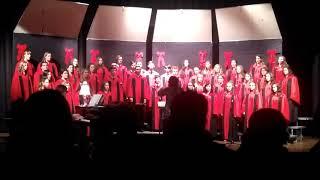 "Caldwell High School Christmas Concert 2018, pt 02 - ""Echo Carol"""