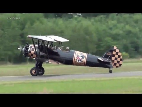 Wings Wheels & Goggles Arrival Teuge Airport 2015