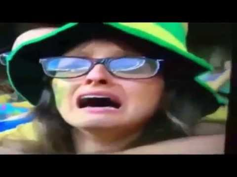 BRAZIL FANS CRYING after The Match Brazil Vs Germany 1-7 | Semifinal FIFA World Cup 2014