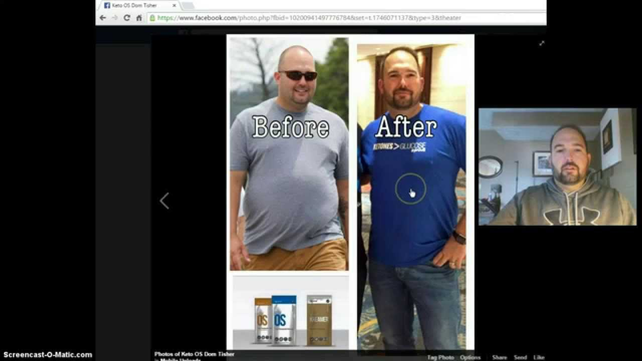 Pruvit Weight Loss Before and After With Keto OS Keto Diet ...