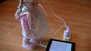 Кукла Настенька видео обзор/Nastenka doll video review