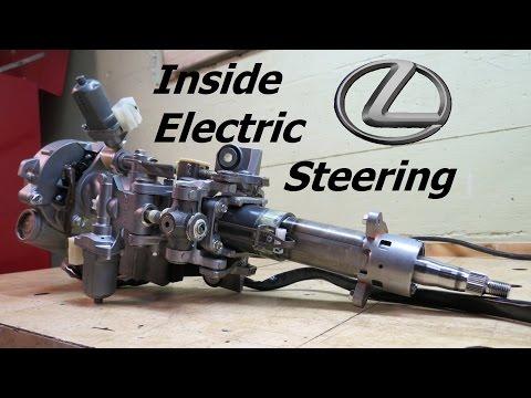Inside Lexus Electric Steering