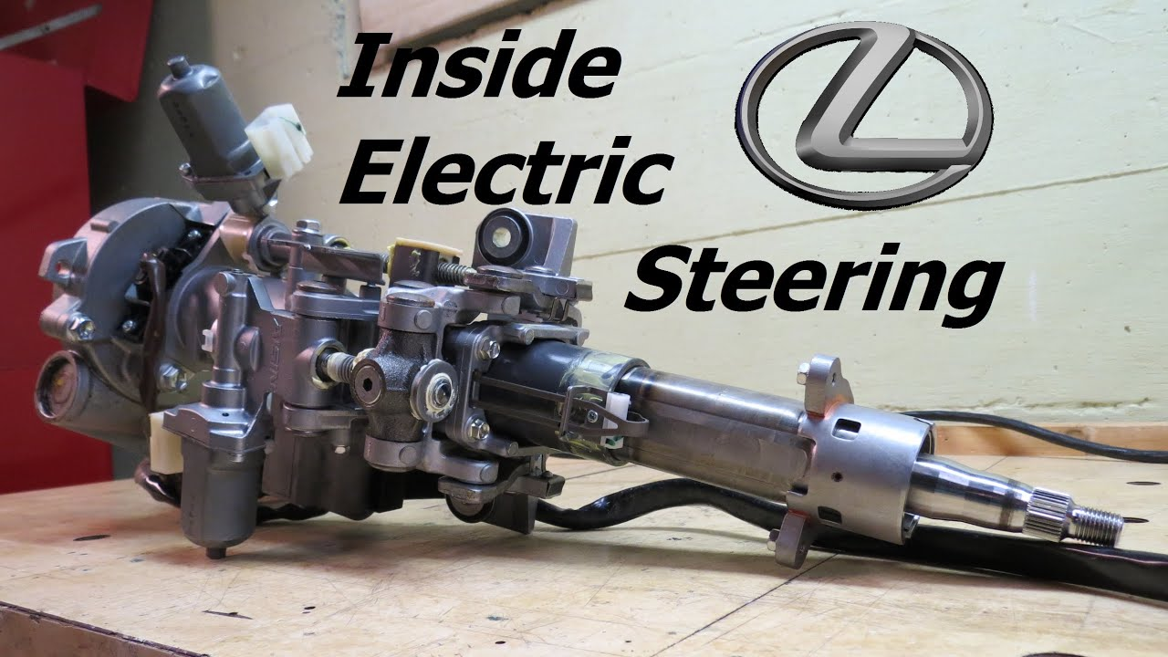 Inside Lexus Electric Steering Youtube