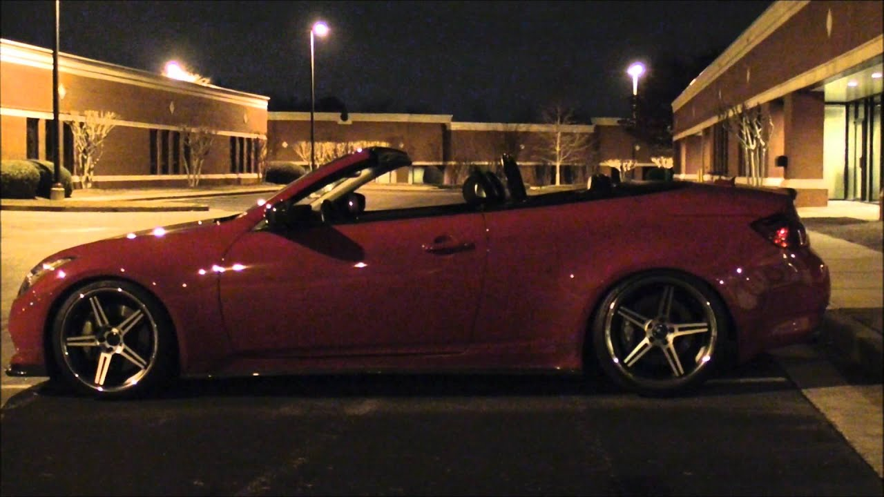 # Remixed # mods4cars smarttop for infiniti g37 convertible night time  light show demo