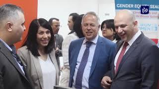 وزير الاتصالات يفتتح محطة معرفة في الطفيلة ومركز اتصالات لأورانج في الكرك (5-5-2019)