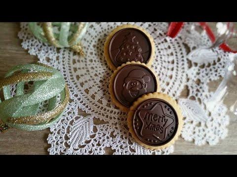 Biscotti Di Natale Uccia.Biscotti Di Natale Con Cioccolato Ricetta Facile E Veloce Youtube