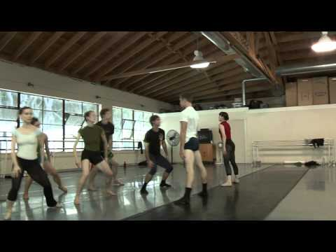SMUIN BALLET's intimate behind-the-scenes with Trey McIntyre (2010)