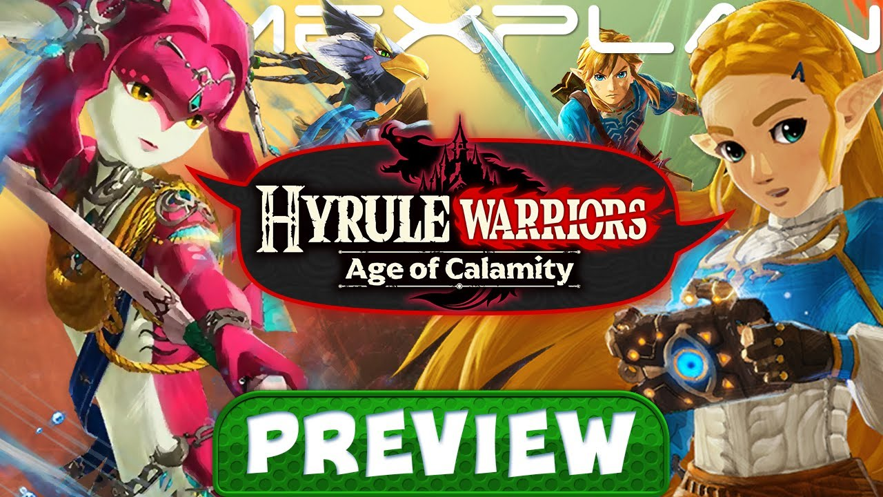 We Ve Played A Ton Of Hyrule Warriors Age Of Calamity Preview Gameplay Performance More Youtube