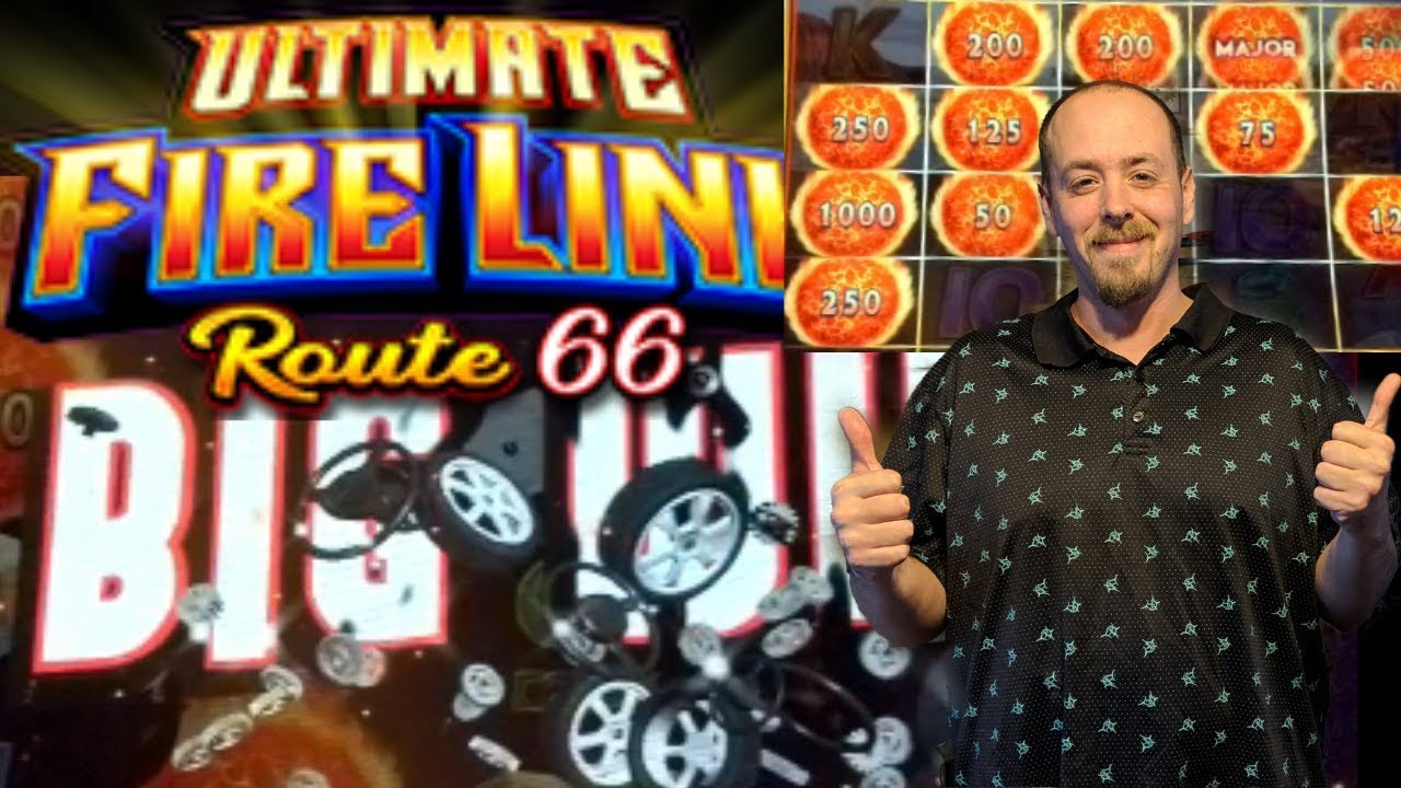 NEW GAME ⭐ROUTE 66⭐ Ultimate Fire Link🎰 Live Play Fire