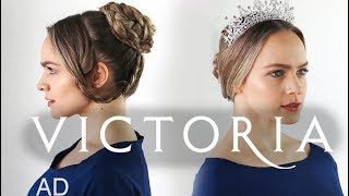 Braided Updos from TV's Victoria - Hair Tutorial | Kayley Melissa thumbnail