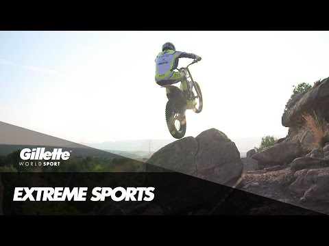 Motorcycle Trials Technique with Adam Raga | Gillette World Sport