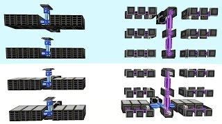 Minecraft Mods - Applied Energistics Tutorial - Sub Network & Storage AE2 SSD