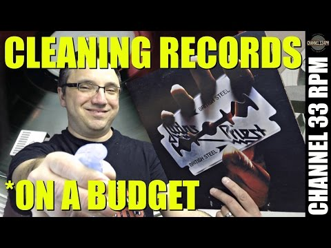 HOW TO MAKE record cleaning solution | Tips for cleaning vinyl