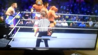 WWE Wrestlemania XXX Tag Team Match