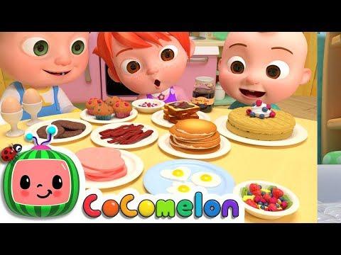 Breakfast Song | CoComelon Nursery Rhymes & Kids Songs