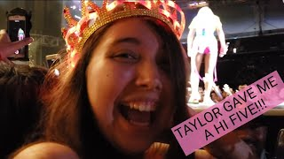 Taylor Swift at Wango Tango fan pit vlog- SHE TOUCHED MY HAND!!! Part 1