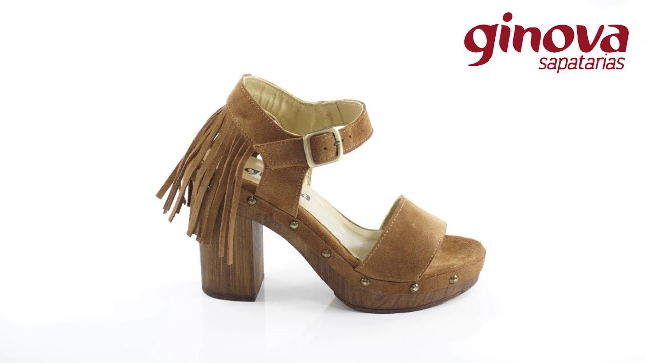 b36d005cb Sapato de Senhora com franjas atrás - YouTube