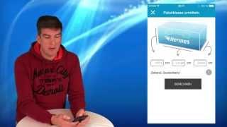 Bequemer Paketversand mit Hermes App