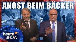 Christian Lindner hat Angst vor Ausländern beim Bäcker | heute-show vom 18.05.2018