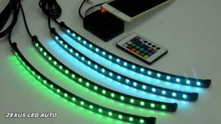 16color music controlled atmosphere light